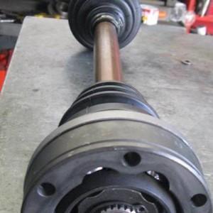 Semiasse rinforzato per Lancia Fulvia costruito in collaborazione con CB Special Components